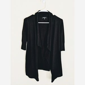 Express Black Cardigan